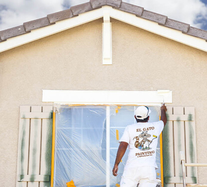 el gato painter - painting residential house