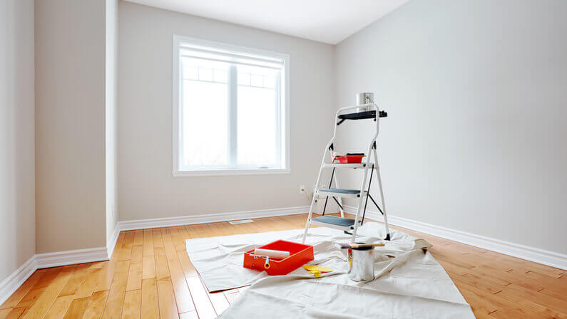 how to ventilate a room while painting