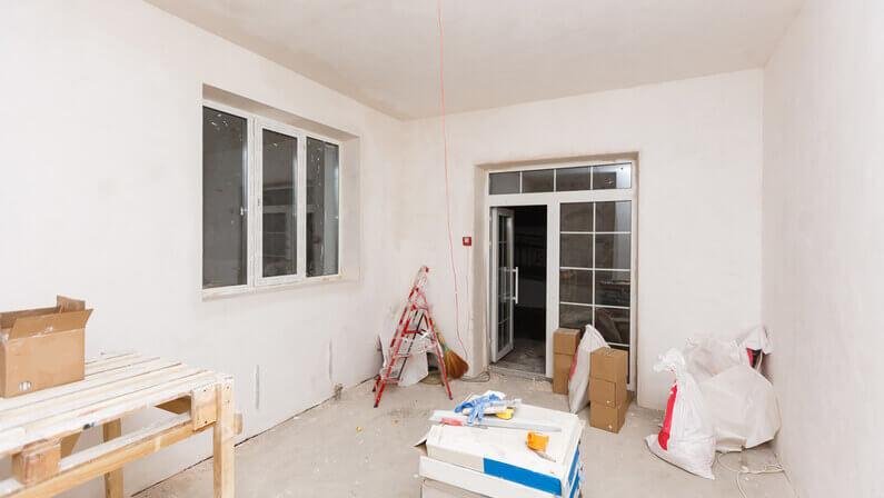 open doors and windows to ventilate