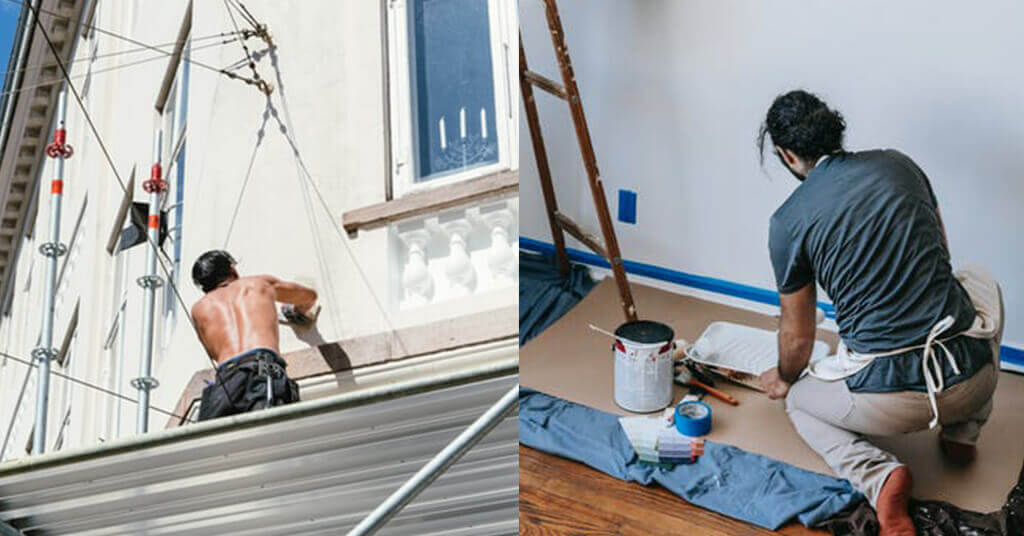 house exterior and interior painting