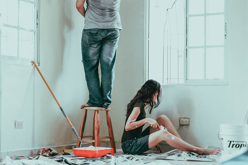 how long are paint fumes harmful