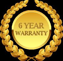 el gato 6-year-warranty