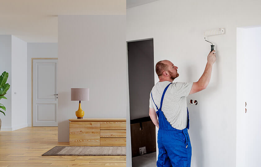 how to paint a room properly