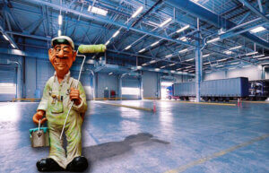 warehouse painting guide