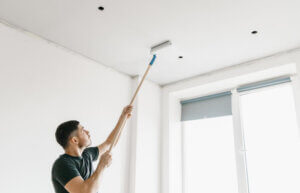 professional help painting ceiling