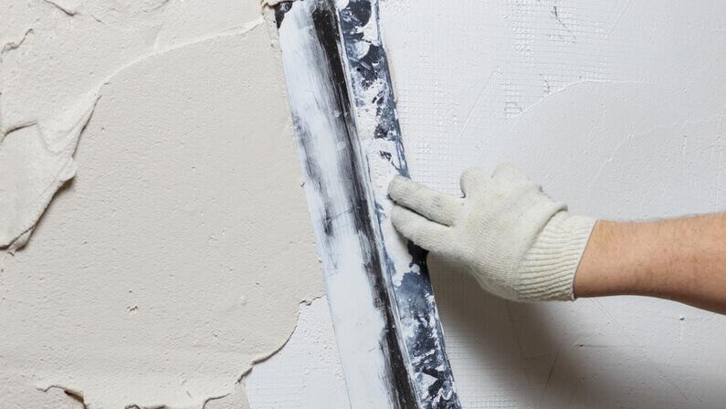 stucco application